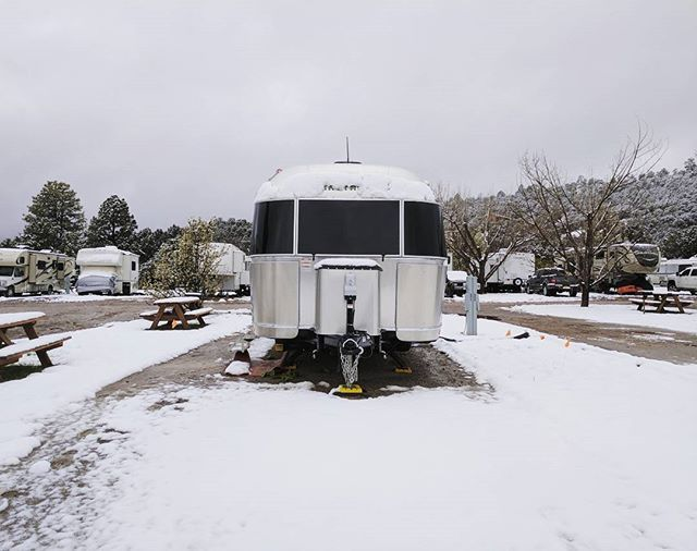 More snow than we've seen in a long time. In New Mexico​, in April.